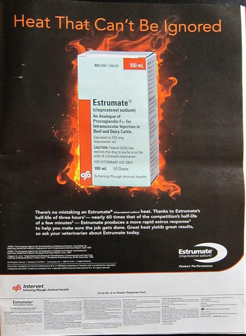 Estrumte Ad from Hoard's Dairyman