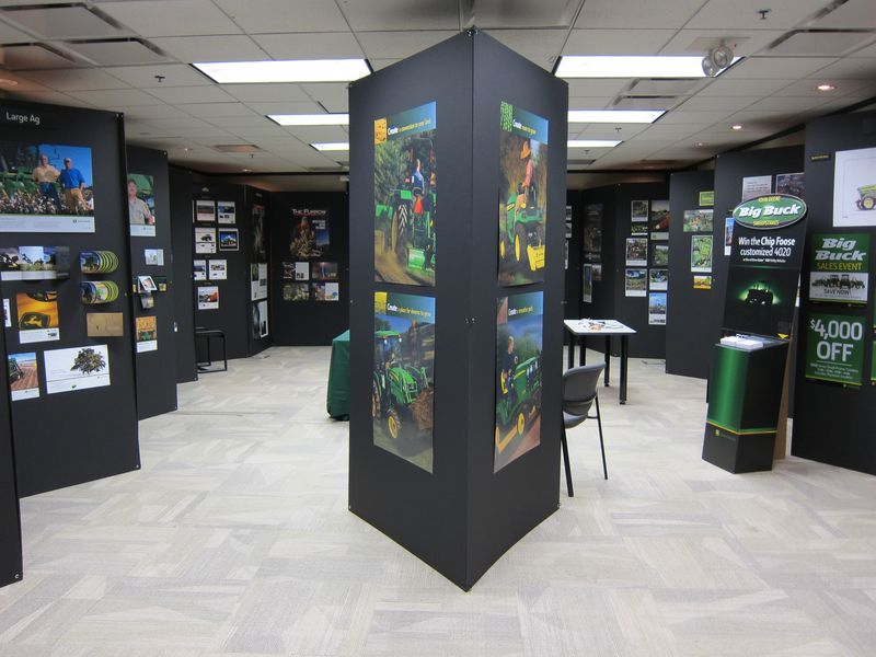 Ag & Turf Advertising Display
