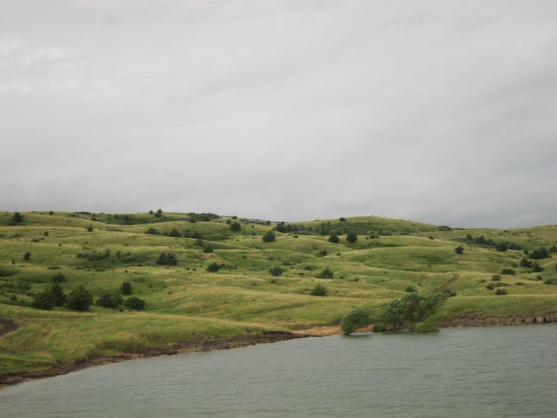 South Dakota near the Missouri River.